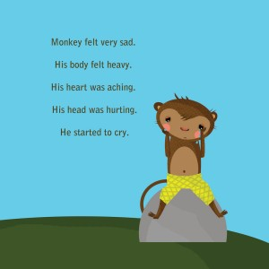 Sadness clipart sad child 7 Monkey with When Help
