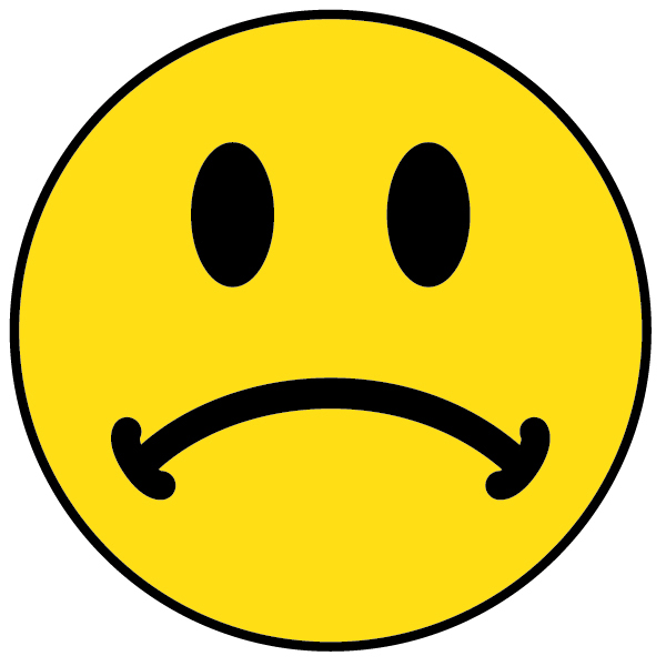 Smiley clipart sad face And Clipart Happy Face Clipart