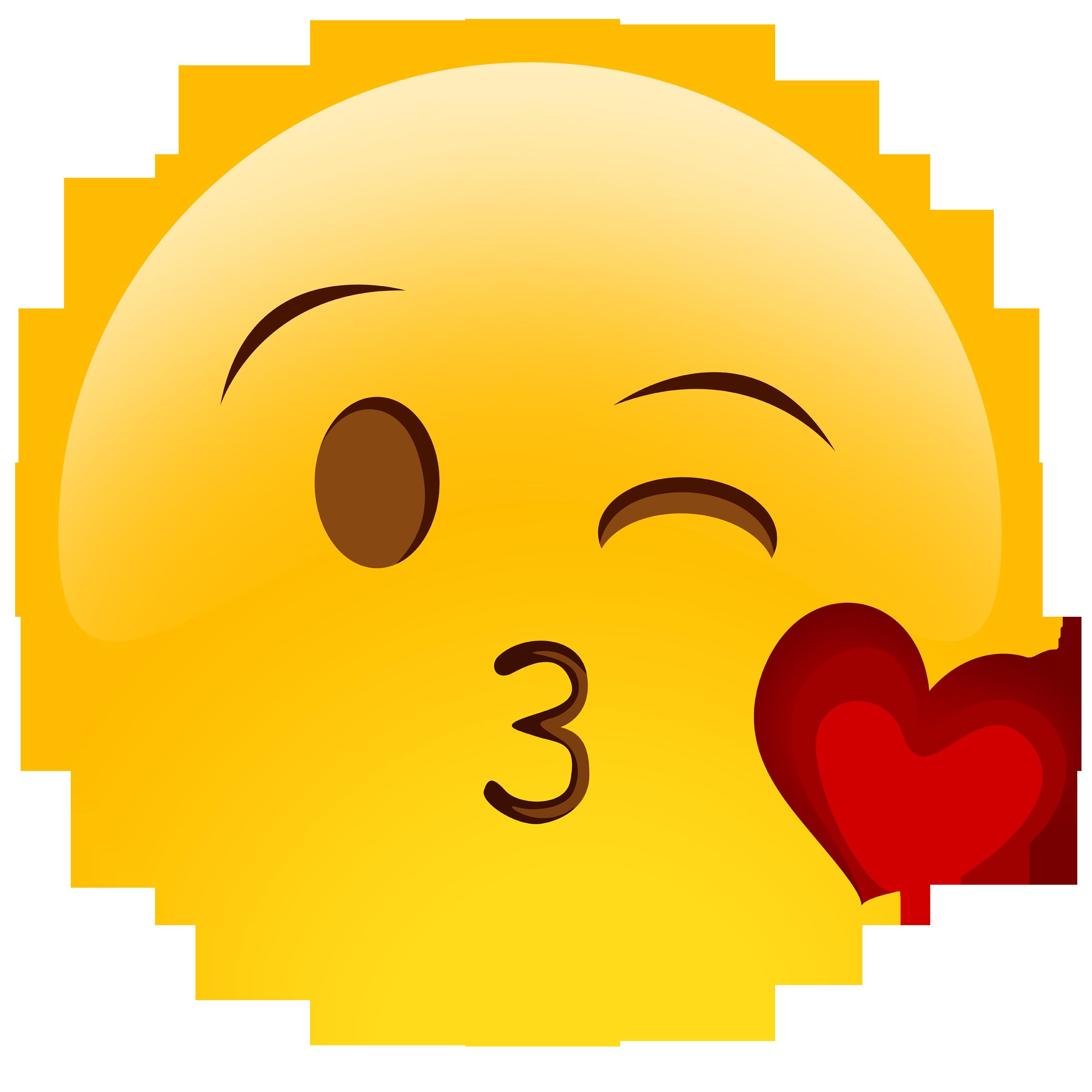 Kisses clipart emoji Sad clipart 138KB Emoticony emoji
