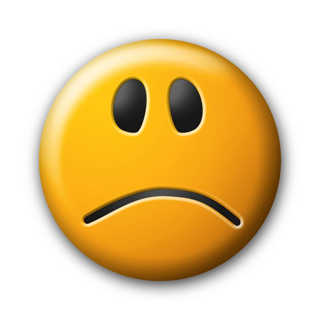 Smileys clipart unhappy Emoticon THOUGHTS ClipArt MY Faces