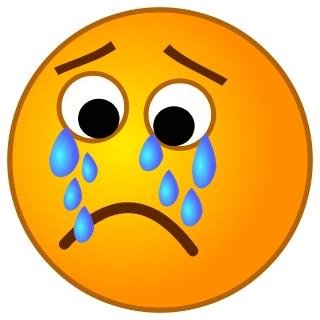 Tears clipart sadness Art on Tears  With