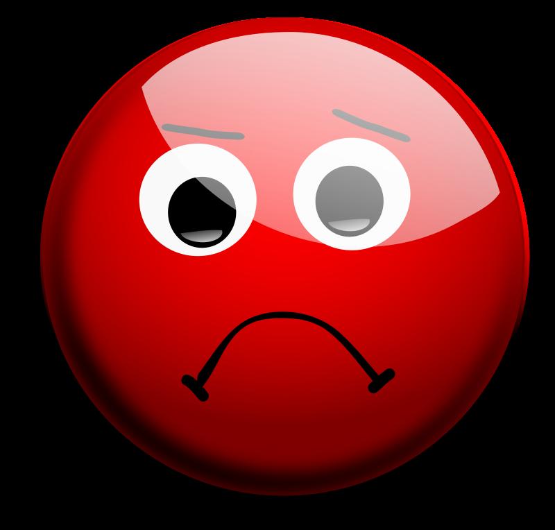 Sadness clipart upset #14