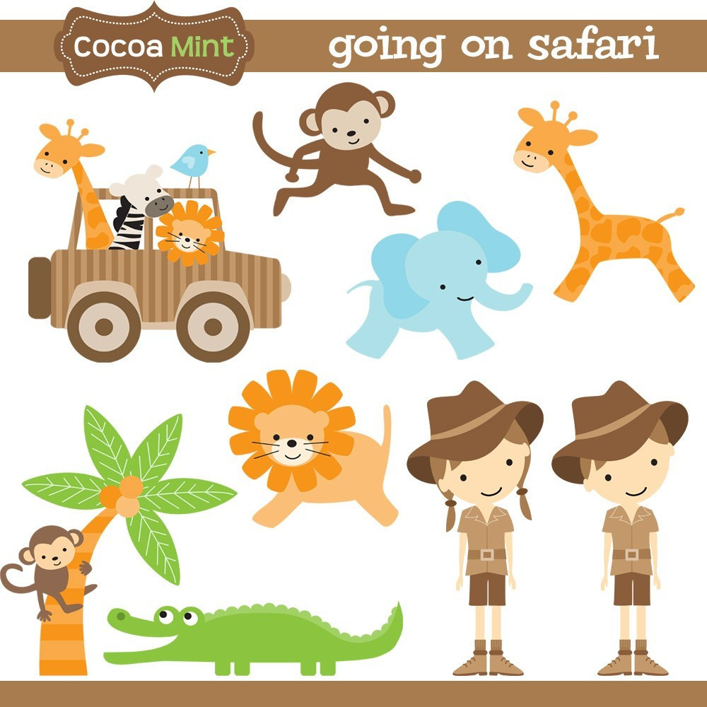 Safari clipart happy animal Safari Going this item? Like