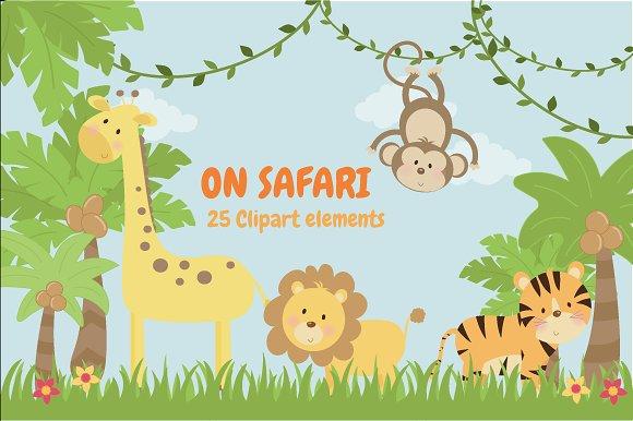 Safari clipart Clipart clipart on Illustrations Creative