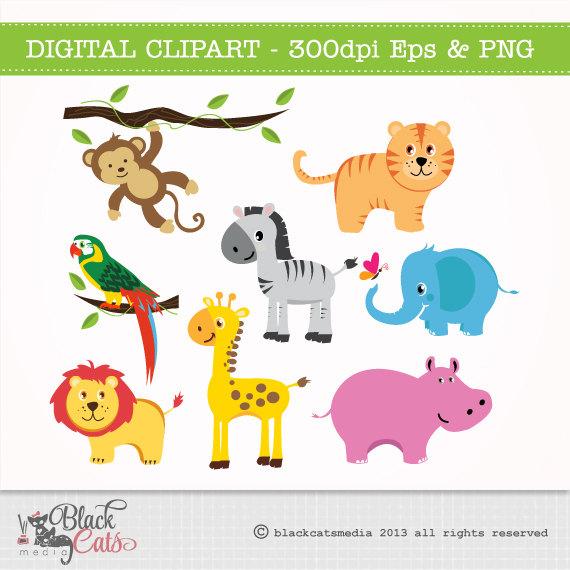 Safari clipart african safari Download Digital Safari EPS Clipart