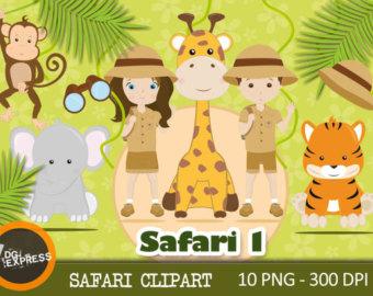 Safari clipart african safari Animal Safari