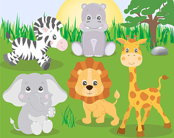 Safari clipart animal plant Animal CLIPART