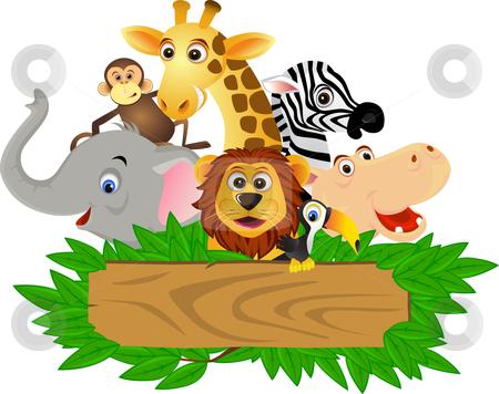 Safari clipart animated animal Cartoon Stock cartoon Animal
