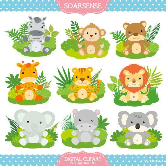 Safari clipart animated animal Prints Animals Clipart soarsense by