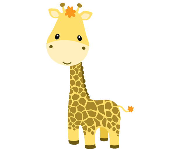Animal clipart baby giraffe Google  personajes baby SAFARI