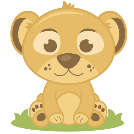 Safari clipart baby lion 2 art image animal 3