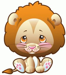 Safari clipart baby lion 137 Zoo on Zoo and