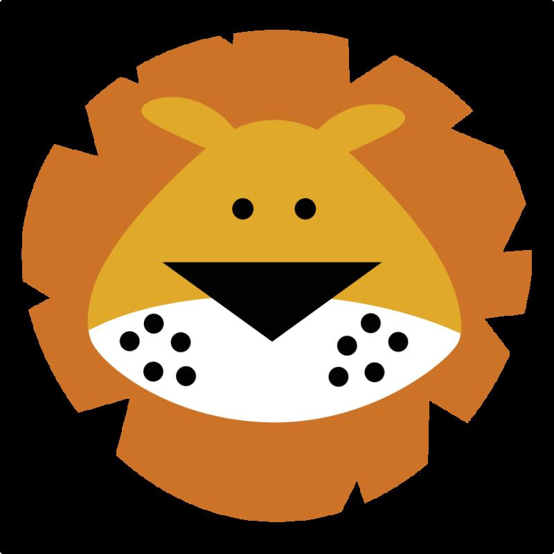 Safari clipart baby lion #13