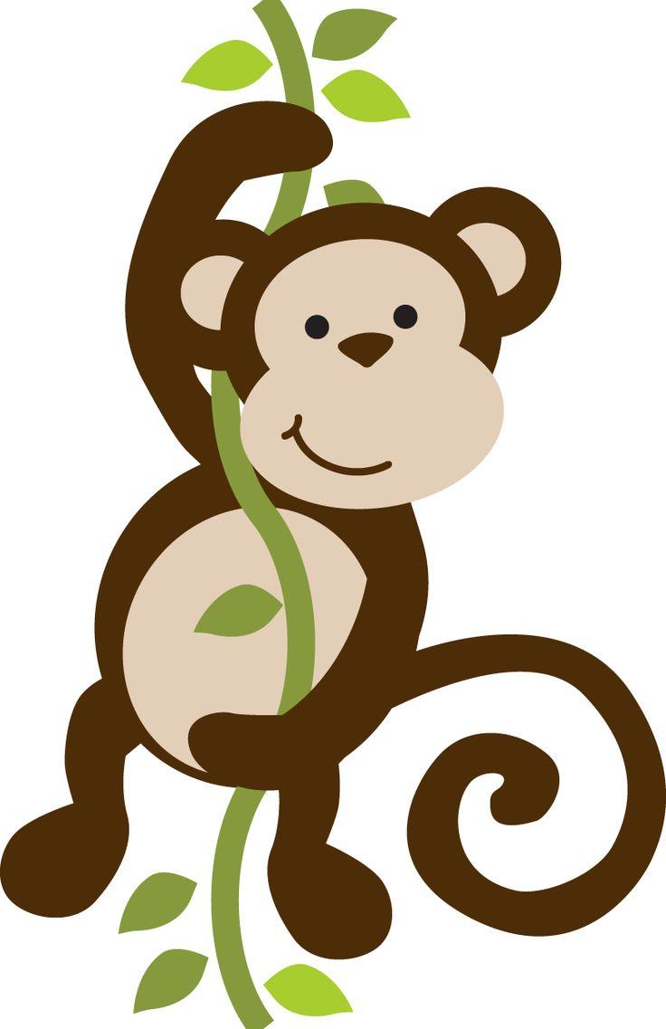 Safari clipart baby monkey #8