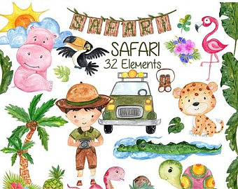 Safari clipart boot #10
