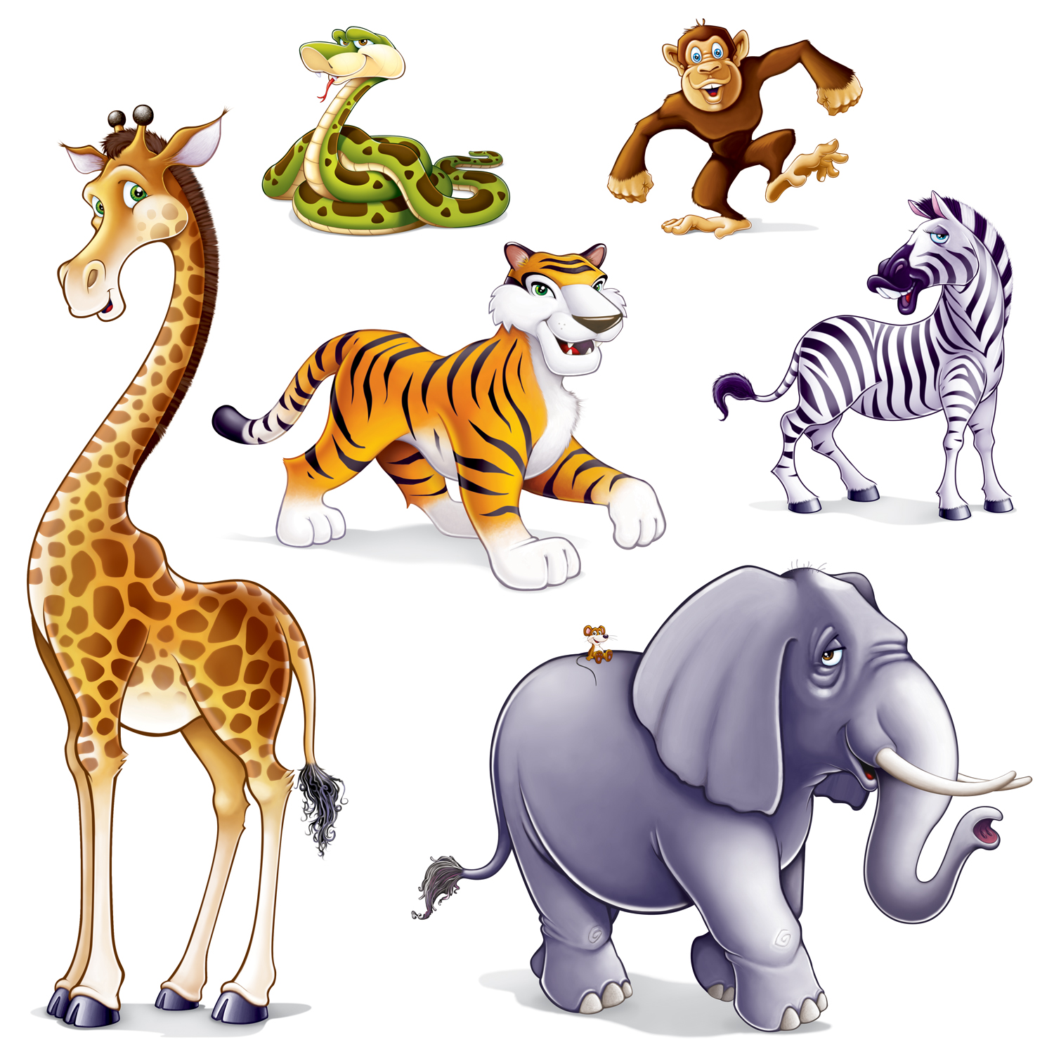 Realistic clipart realistic animal #7