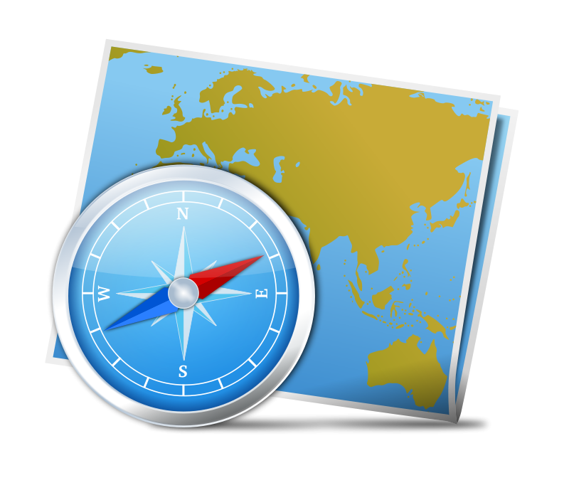 Geography clipart map Art Compass com map Cliparting