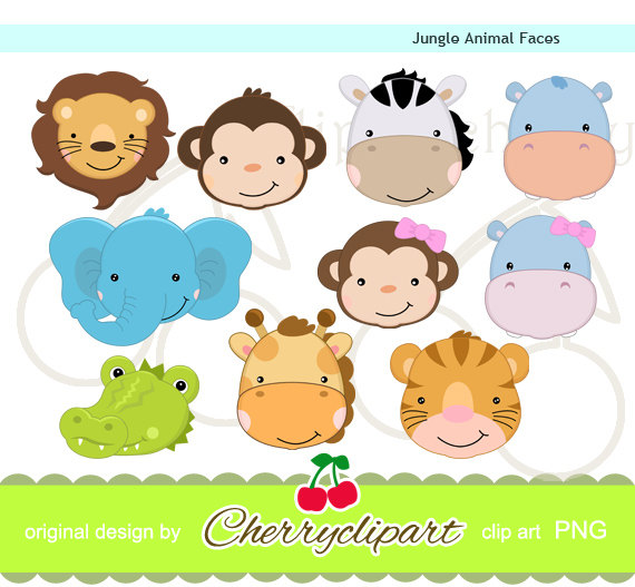 Card clipart cute animal #13