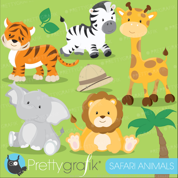 Zoo clipart lion tiger Animal ANIMALS Clipart Cute clipart
