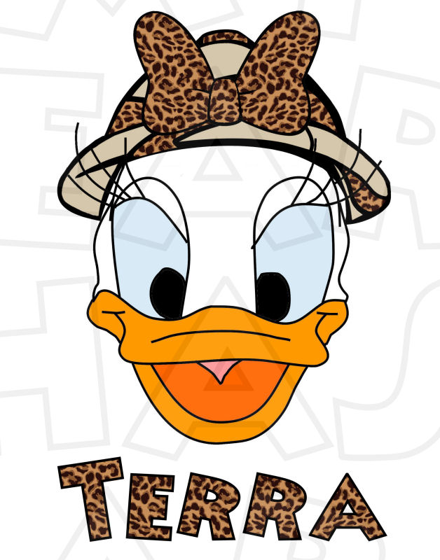 Safari clipart daisy duck #3