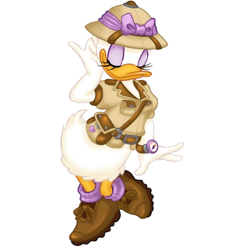Safari clipart daisy duck #6
