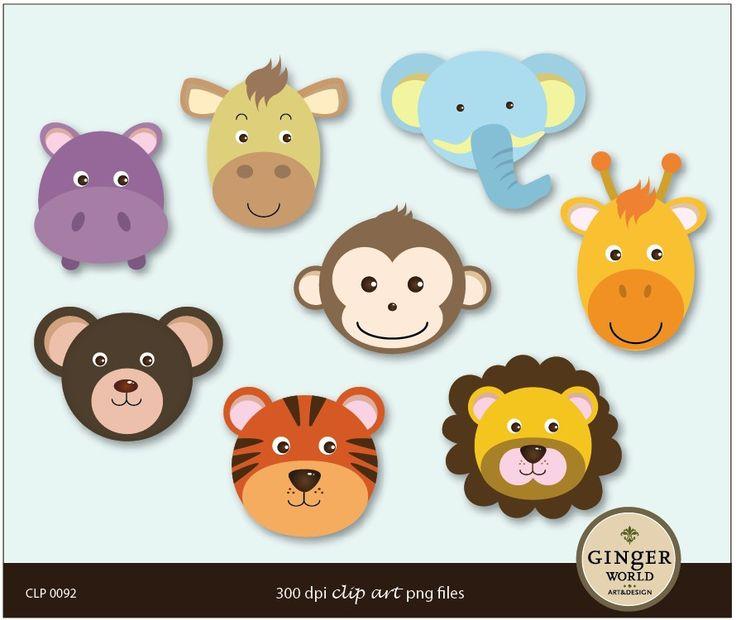 Tiger Print clipart jungle animal #8