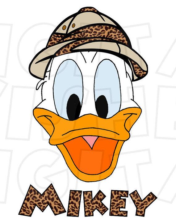 Safari clipart donald duck Duck Image clip Iron Donald