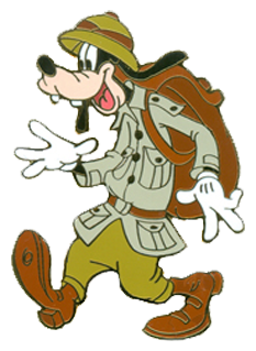 Safari clipart goofy W/Backpack Goofy Clipart Safari Goofy