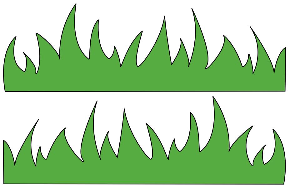 Blade clipart rumput #5