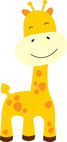 Animal clipart baby giraffe Animal Shower Baby Clipart #1