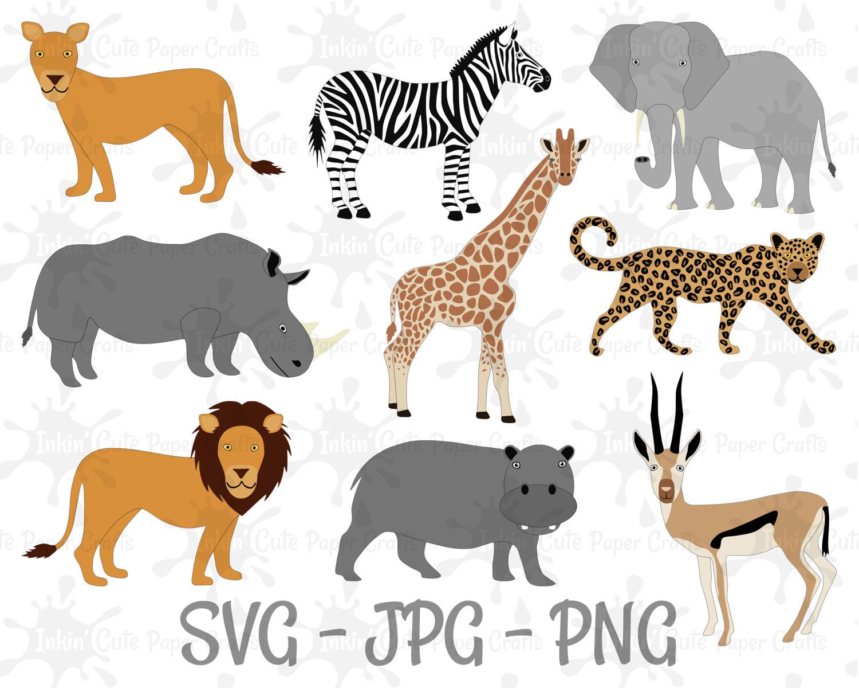 Safari clipart hippo Digital is a file Lion
