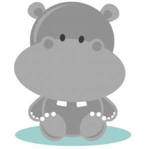 Safari clipart hippo 6 Freebie 4 14: Hippo