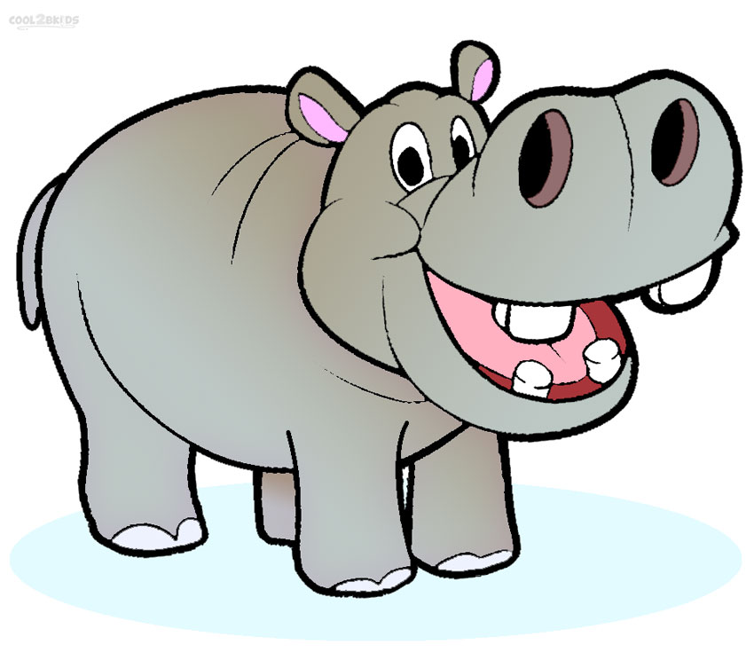Safari clipart hippo Hippo Clipart #1 Clipart Tiny