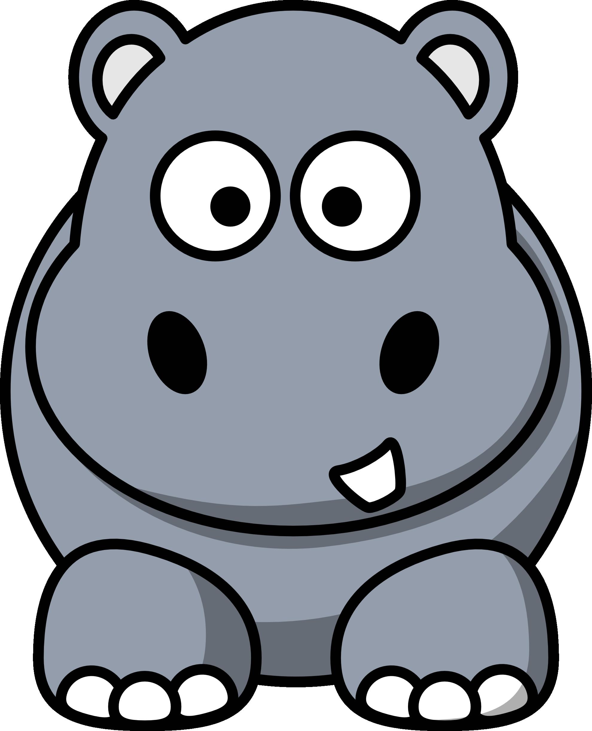 Safari clipart hippo Hippo of baby clipart collection
