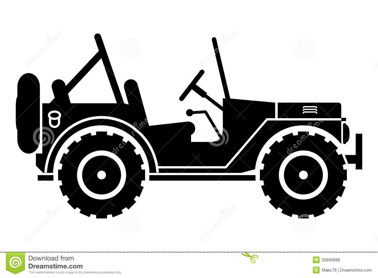 Black & White clipart jeep Jeep collection jeep And Clipart