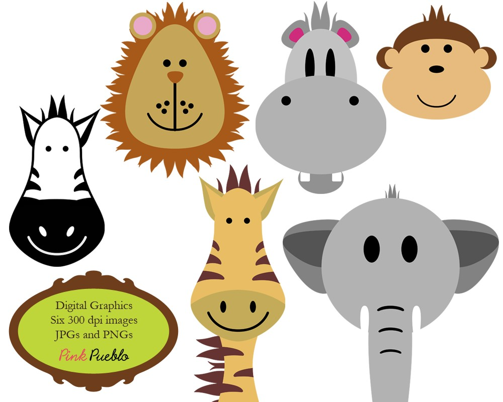 Zoo clipart forest animal Clipart Animal Art African