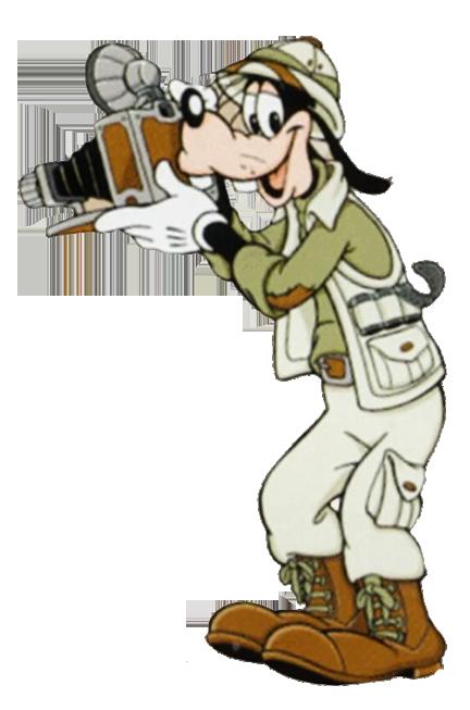Safari clipart mickey mouse and friend Clipart w/Camera Goofy Goofy
