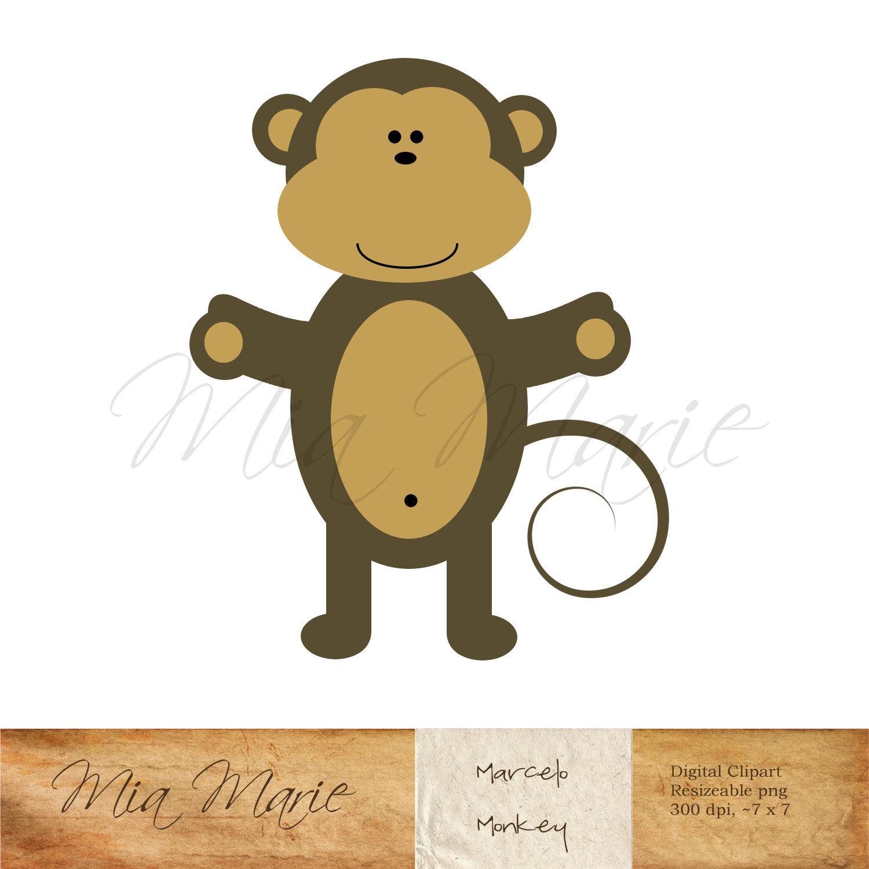 Teddy clipart monkey #1