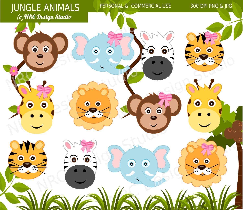 Safari clipart rainforest monkey Animal Clip Clip Clipart Jungle