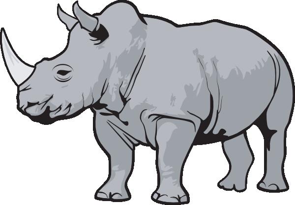 Safari clipart rhino Looking Free clip biology this