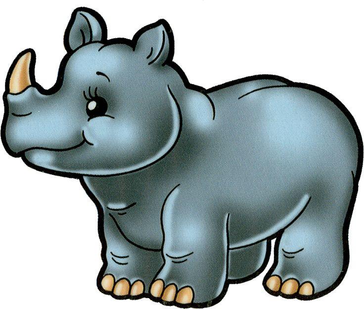 Safari clipart rhino на on автор Pinterest Яндекс