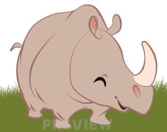 Safari clipart rhino Clipart Rhino Clipart clipart Safari