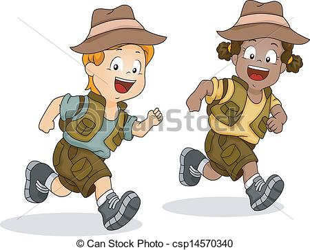 Adventure clipart kid adventure Of csp14570340 Boy Safari Vector