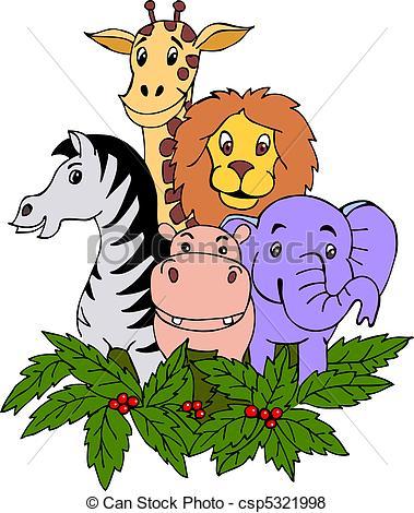 Safari clipart safari park #9