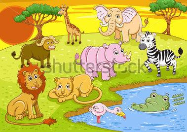 Safari clipart safari park #8