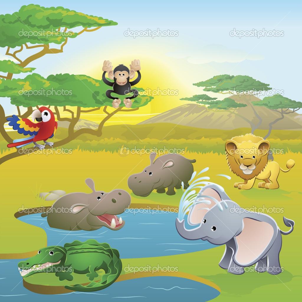 Safari clipart safari park #6