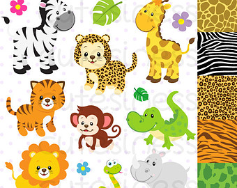 Zoo clipart easy animal Jungle / Zoo Jungle Cute