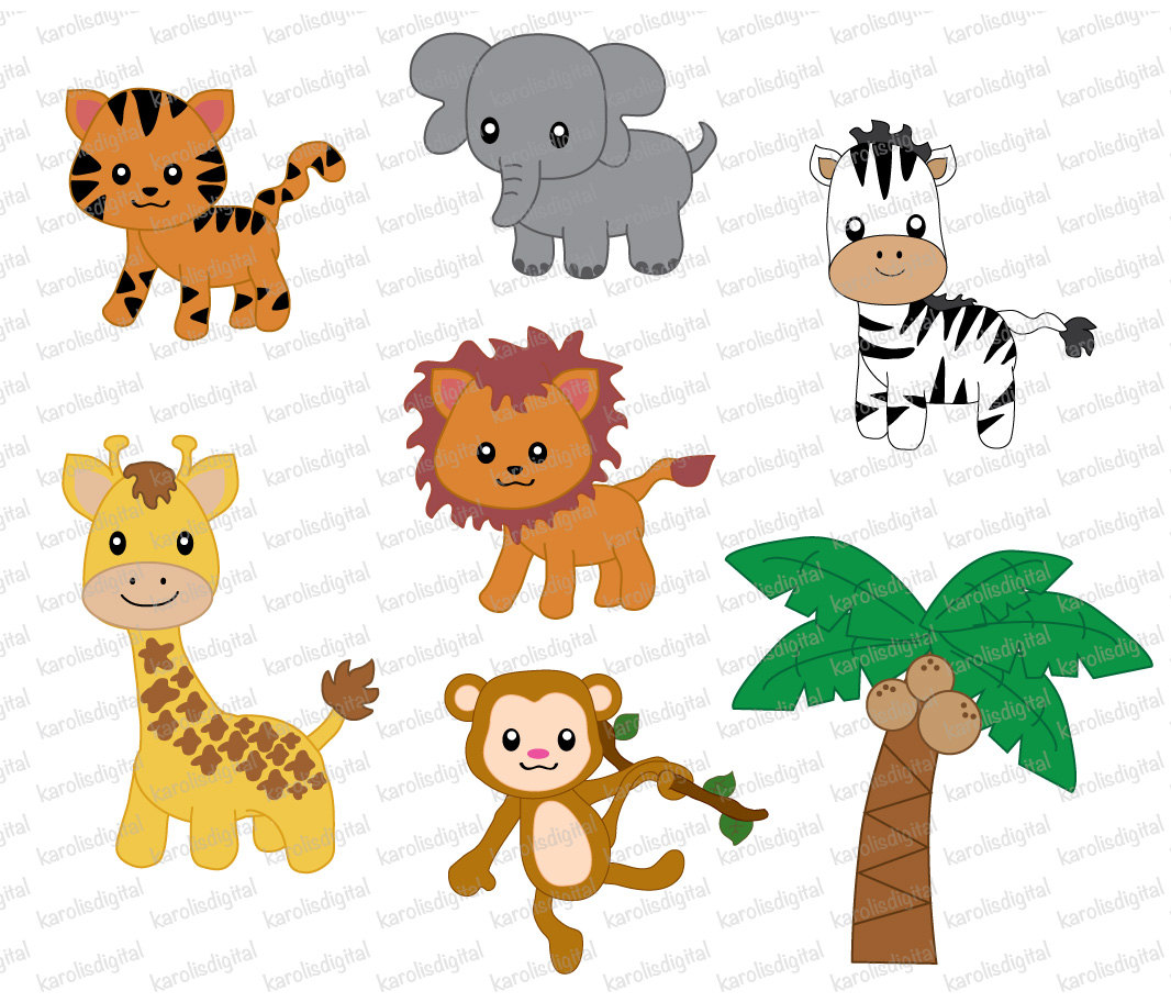 Stripe clipart jungle animal Art art digital digital ideas