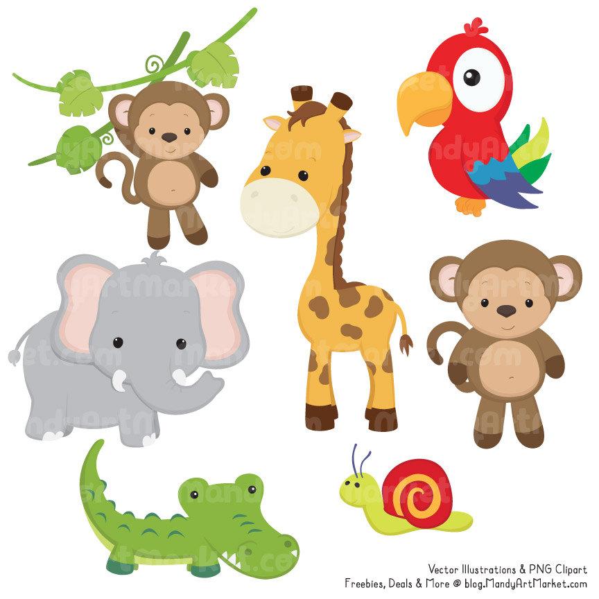 Safari clipart wildlife  is Animal Cute Clipart