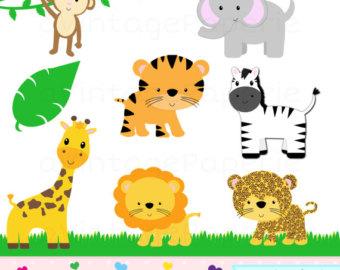 Safari clipart wildlife Animal Animal animal African clipart